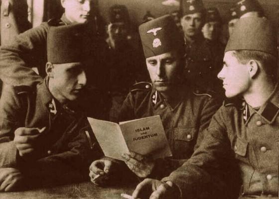 Kedekatan Nazi Dengan Tentara Muslim