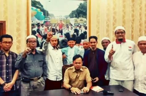 Pertemuan sejumlah pimpinan ormas Islam dengan Wali Kota Bogor Bima Arya. (foto: suara islam)