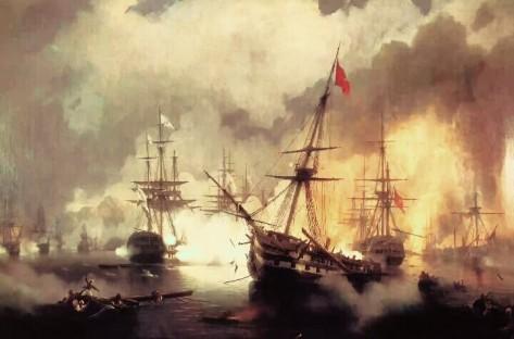 Ilustrasi Aceh melawan Portugis