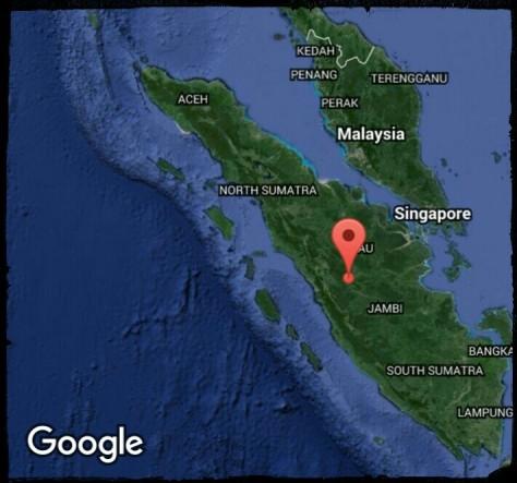 Pulau Sumatra (google maps)