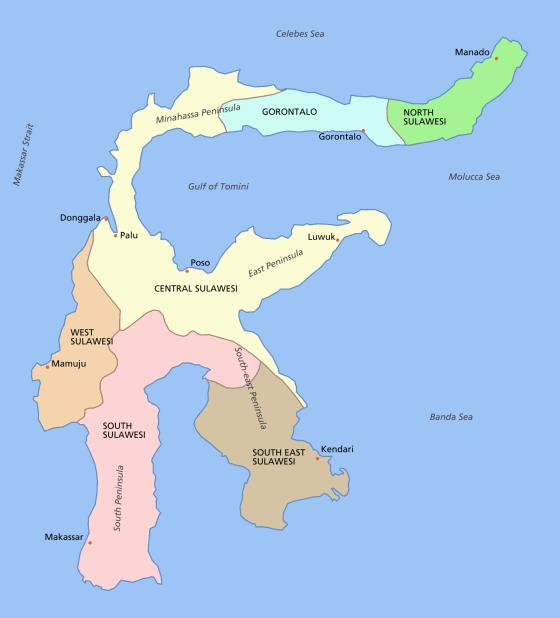 Pulau Sulawesi - Wikipedia bahasa Indonesia, ensiklopedia bebas