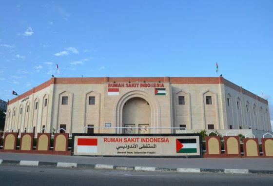 Inilah Rumah Sakit Indonesia yang Terbesar di Gaza Utara. (okezone.com)