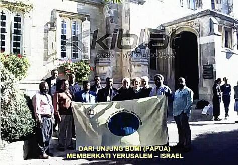 Kunjungan perwakilan GIdI dan tokoh gereja ke Jerusalem, Israel (Foto: Dokumentasi Kiblat.net)