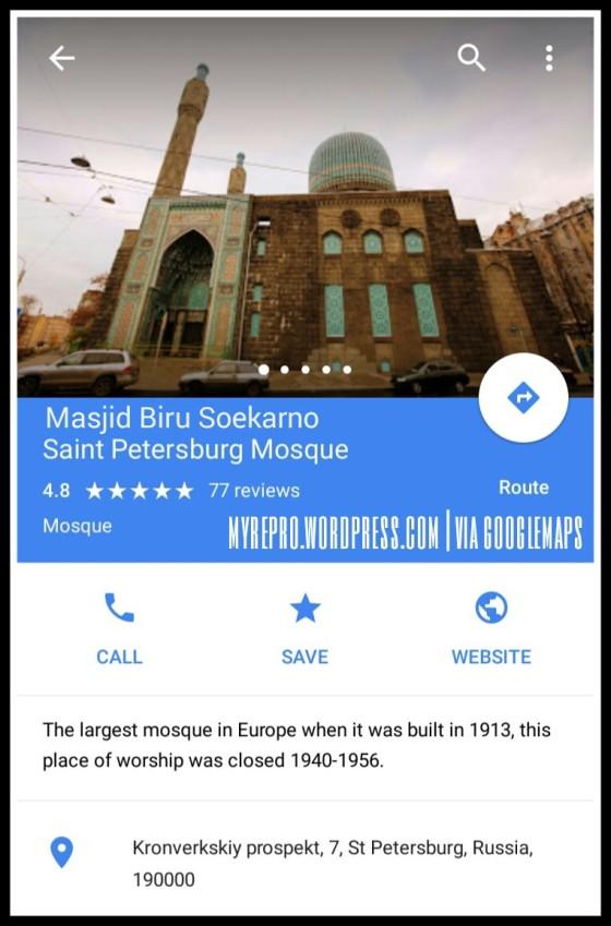 Masjid Biru Soekarno