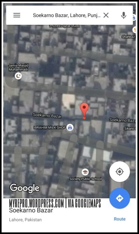Soekarno Bazar, Lahore, Pakistan.