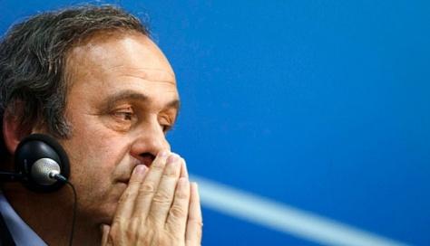 Presiden Federasi Sepakbola Eropa (UEFA), Michel Platini. Tempo.Co via Reuters.Com