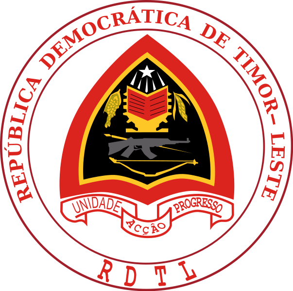 Coat of arms of East Timor (wikipedia commons)