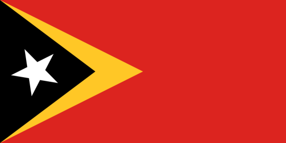 Flag of East Timor (wikipedia commons)