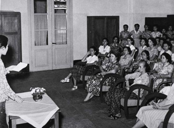Peringatan Hari Kartini pada tahun 1953. (Wikipedia Commons)