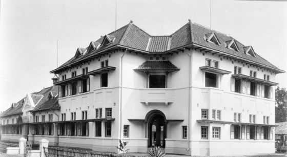 Sekolah Kartini (Kartinischool), 1918. (Wikipedia Commons)