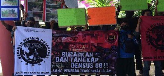 Demo di Komnas HAM, Ormas Ini Minta Densus 88 Dibubarkan — Intelijen