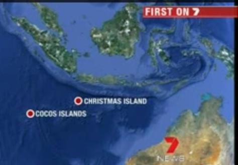 Jarak Pulau Natal & Kepulauan Cocos lebih dekat dengan Indonesia - zulfanny's Blog