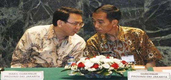 Joko Widodo dan Basuki Tjahaja Purnama (Intelijen)