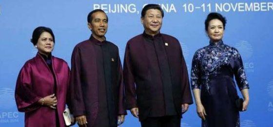 Joko Widodo dan Xi Jinping (intelijen)