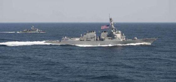 AS mengirimkan kapal penghancur USS Lassen ke wilayah sengketa di Laut Cina Selatan. (Intelijen)