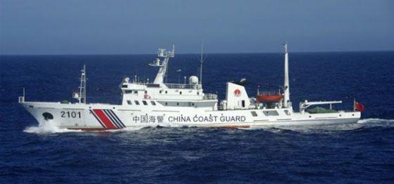 Kapal Penjaga Pantai China yang masuk teritorial ZEE Indonesia (Intelijen)