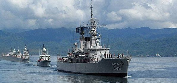 Kapal TNI AL. (Intelijen)
