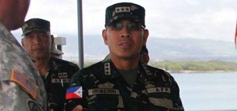 Kepala Angkatan Bersenjata Filipina, Jenderal Hernando Iriberri. (Intelijen)
