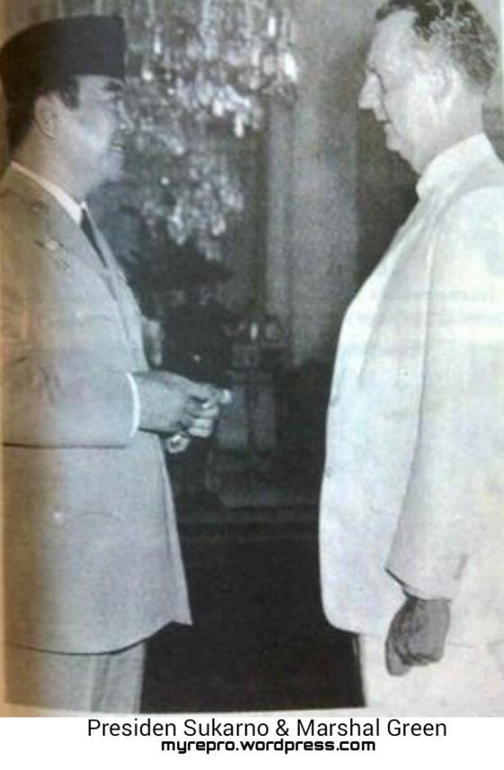 Marshal Green & Presiden Sukarno