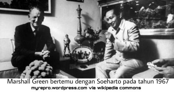 Marshall Green bertemu denganSuhartopada tahun1967