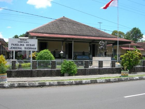 Rumah dinas Soedirman di Yogyakarta; saat ini menjadi Museum Sasmitaloka. (Wikipedia)