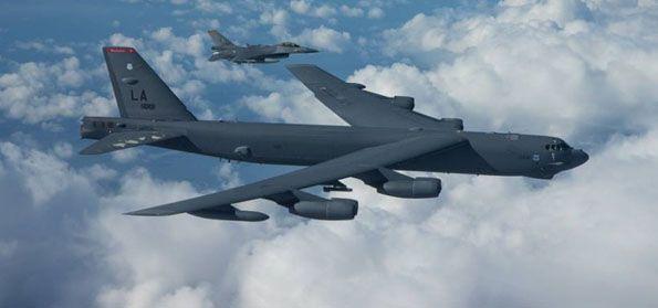 pesawat pembom nuklir B-52. (Intelijen)