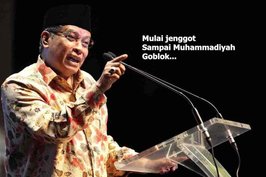 said aqil goblokkan muhamamdiyah