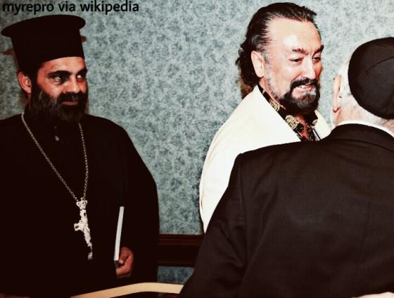Adnan Oktar bertemu beberapa pemimpin agama, 2010.