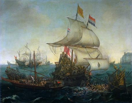 Belanda di Nusantara. ~Ilustrasi | novalsossh.wordpress.com~