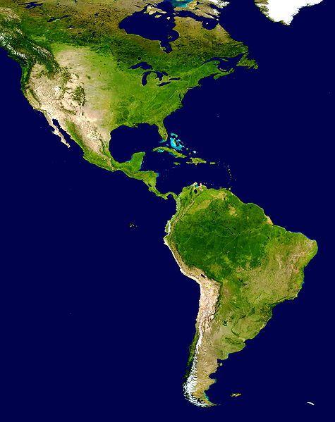 The_Americas_satellite_map