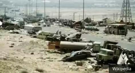 Highway of Death, Kuwait