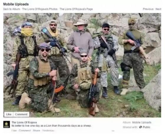 Pejuang Asing Kurdi