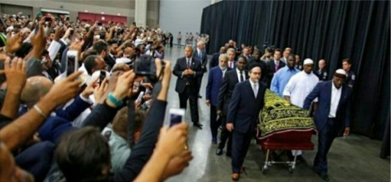 Proses Pemakaman Muhammad Ali