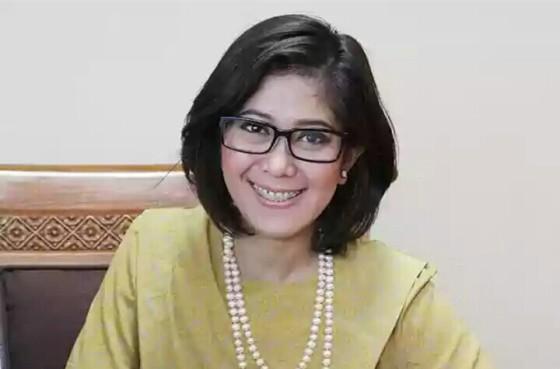Meutya Hafid kini jadi anggota DPR Img Source: rmol.co