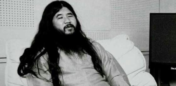 Pendiri Aum Shinrikyo.