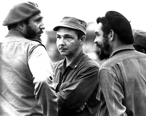 Fidel, Che, dan Raul