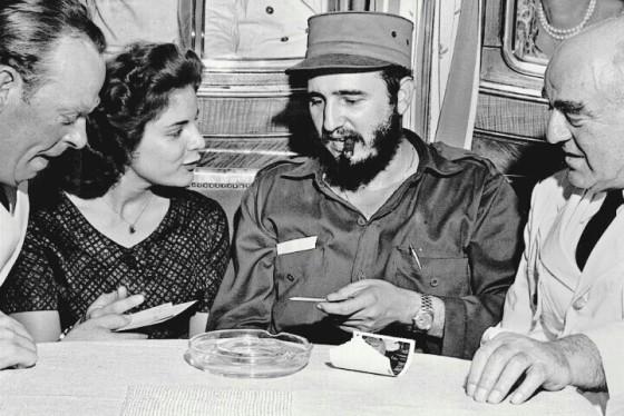 Marita Lorenz dan Fidel Castro