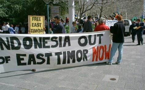 Australia dukung Timor Timur keluar