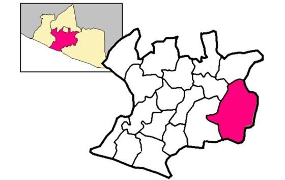 Peta Kec. Dlingo (wikipedia)