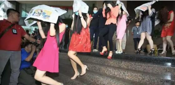 PSK asal China yang berhasil diringkus jajaran Ditjen Imigrasi Kemenkumham. Foto Jawa Pos