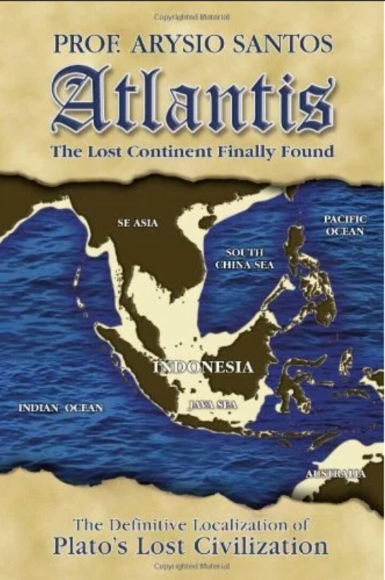 "Buku Santos ""Atlantis: The Lost Continent Finally found"""