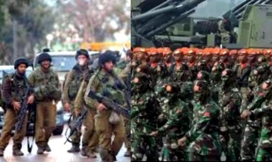 Inilah Perbandingan Militer Indonesia dan Militer Israel