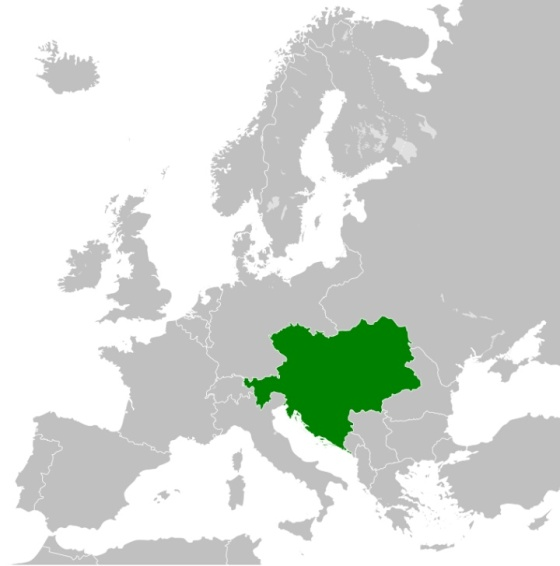 Wilayah Kekaisaran Austria-Hongaria pada 1914 (wikipedia)