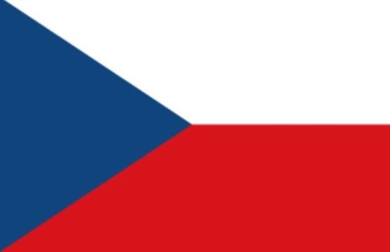 Bendera Cekoslowakia yang kini dipakai Ceko sebagai bendera negara.