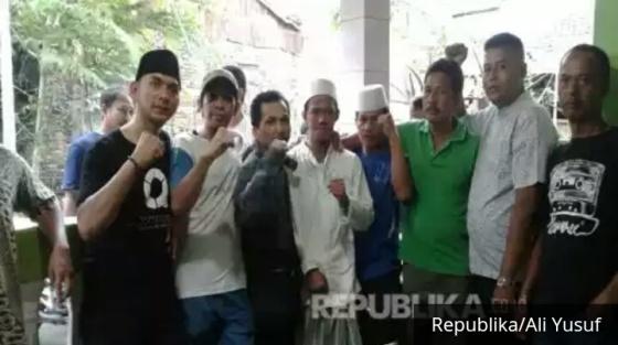 Suasana di rumah Nurul Fahmi