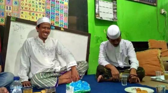 Nurul Fahmi di rumahnya, Jalan Kampung Tanah 80 No. 45. Klender, Jakarta Timur, Selasa 24/1/2016 (TRIBUNNEWS.COM/FAHDI FAHLEVI )